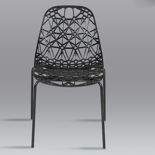 Hollow Design Replica Chair Image 7