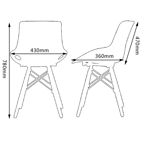 Eiffel Design Creative Chair Image 19