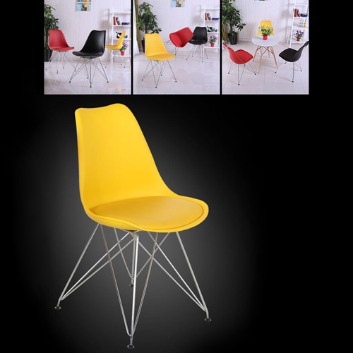 Tower Padded Chair With Chrome Legs Image 12