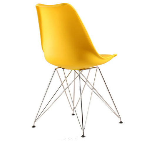 Tower Padded Chair With Chrome Legs Image 16