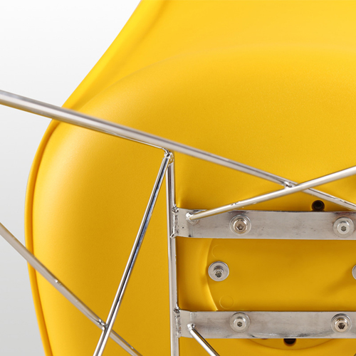 Tower Padded Chair With Chrome Legs Image 19