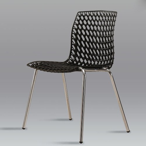 Delford Modern Plastic Chair Image 9