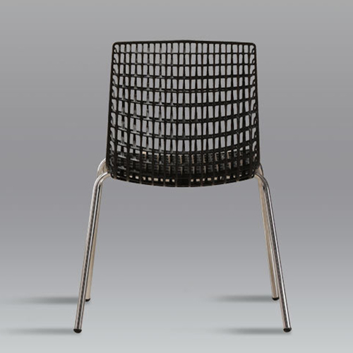 Delford Modern Plastic Chair Image 10