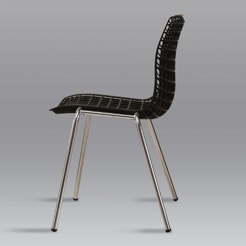 Delford Modern Plastic Chair Image 11