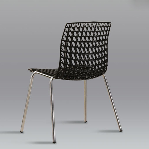 Delford Modern Plastic Chair Image 12