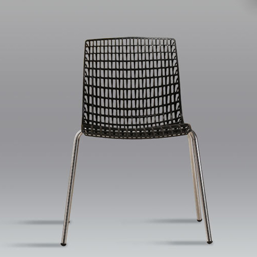 Delford Modern Plastic Chair Image 13