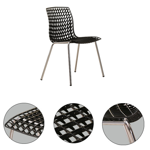 Delford Modern Plastic Chair Image 14