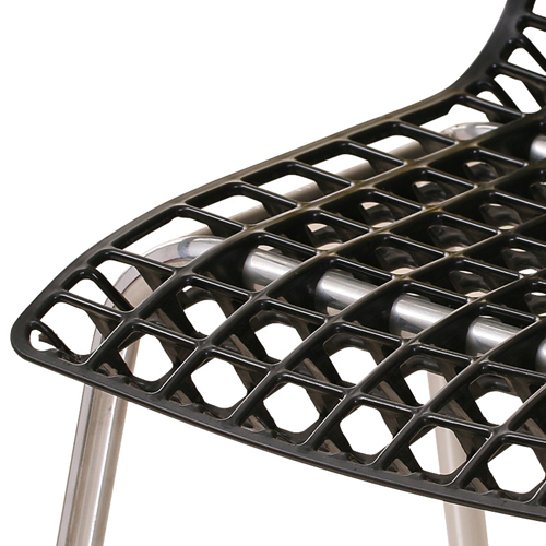 Delford Modern Plastic Chair Image 15