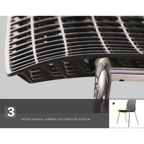 Delford Modern Plastic Chair Image 18