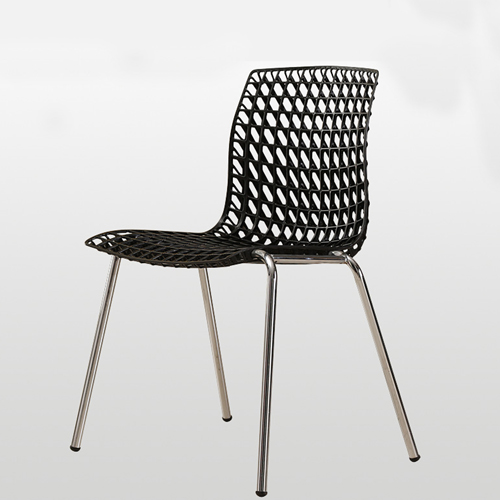 Delford Modern Plastic Chair Image 1