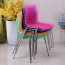 Delford Modern Plastic Chair Image 2