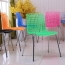 Delford Modern Plastic Chair Image 3