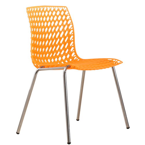 Delford Modern Plastic Chair Image 4