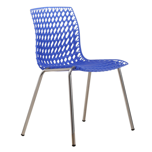Delford Modern Plastic Chair Image 5
