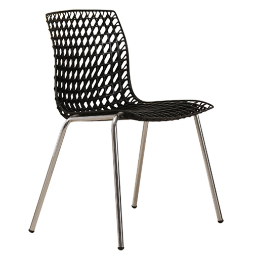 Delford Modern Plastic Chair Image 6