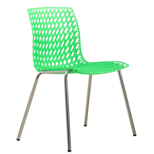 Delford Modern Plastic Chair Image 8