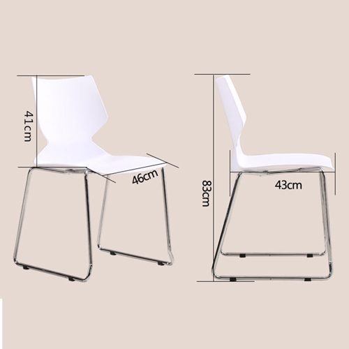 Gigia Armless Stacking Chair Image 17