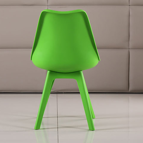 Nordic Plastic Chair with Padded Seat Image 15