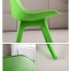 Nordic Plastic Chair with Padded Seat Image 17
