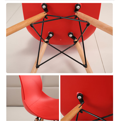 Agriox Wood Leg Eiffel Chair Image 14
