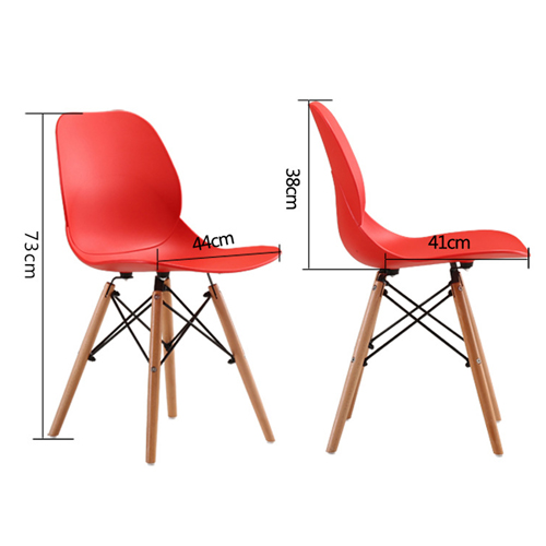 Agriox Wood Leg Eiffel Chair Image 17