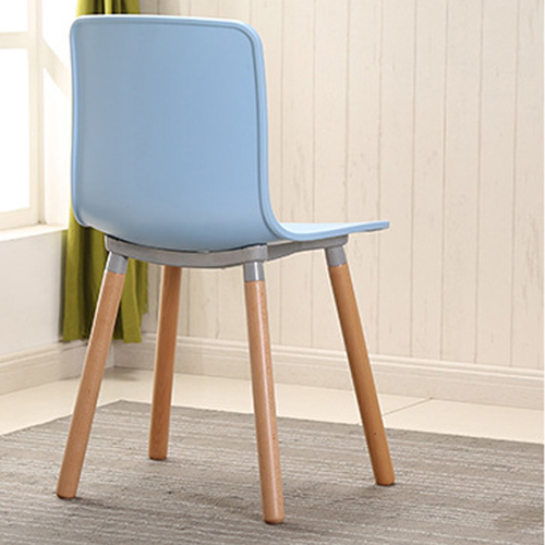 Mid-Century Wood Legs Chair Image 10