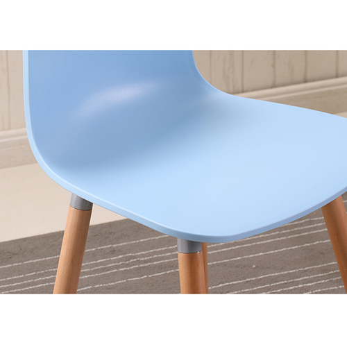 Mid-Century Wood Legs Chair Image 12
