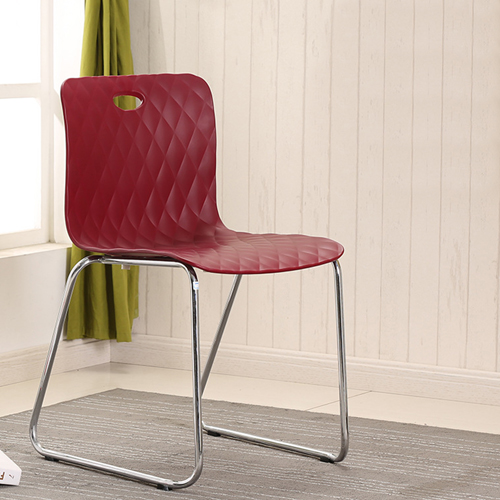 Breezz Texture Padding Sled Chair