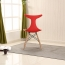 Fishtail Eiffel Chair with Wooden Legs Image 5