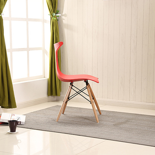 Fishtail Eiffel Chair with Wooden Legs Image 6
