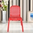 Ziore Hollow Design Stackable Chair Image 11