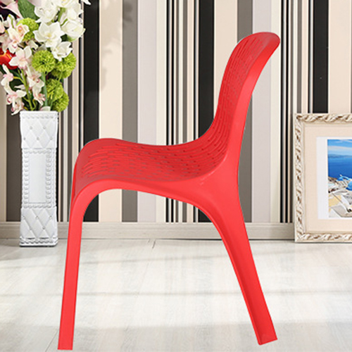 Ziore Hollow Design Stackable Chair Image 13