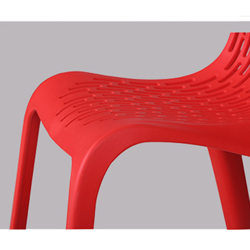 Ziore Hollow Design Stackable Chair Image 17