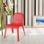 Ziore Hollow Design Stackable Chair Image 1