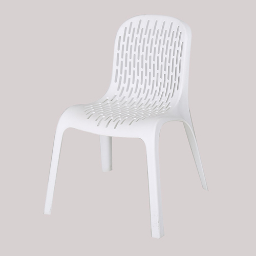 Ziore Hollow Design Stackable Chair Image 6