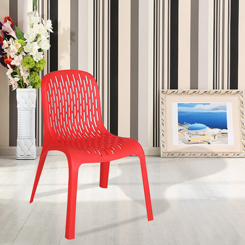 Ziore Hollow Design Stackable Chair Image 8