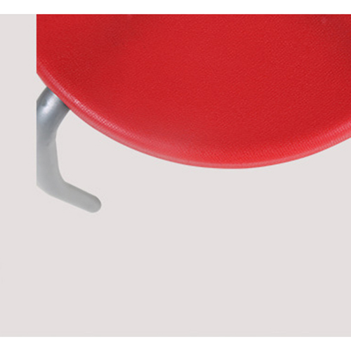 Retract Round Stacking Stool With Metal Leg Image 15