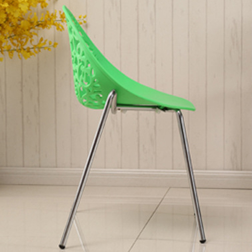 Modern Hollow-Out Flowers Chair Image 10