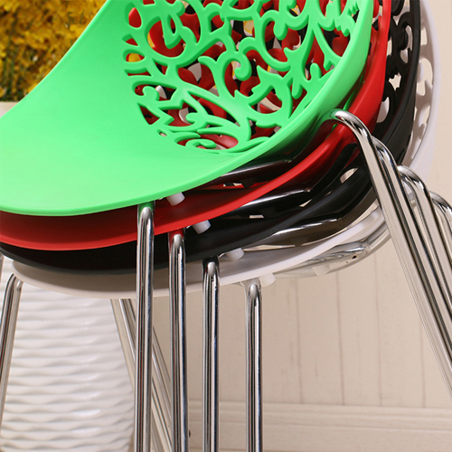 Modern Hollow-Out Flowers Chair Image 12