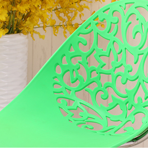 Modern Hollow-Out Flowers Chair Image 13