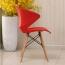 Molded Plastic Dowel-Leg Armchair Image 10