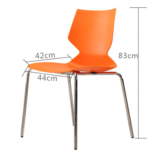 Cuzzles Stack Chair With Chrome Frame Image 16
