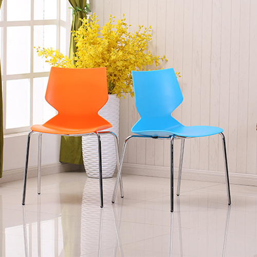Cuzzles Stack Chair With Chrome Frame Image 1