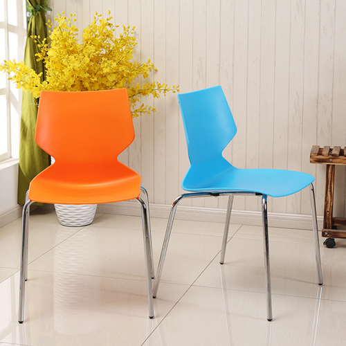 Cuzzles Stack Chair With Chrome Frame Image 2