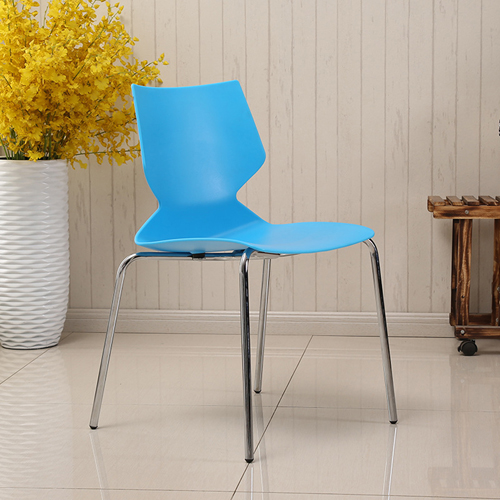 Cuzzles Stack Chair With Chrome Frame Image 3