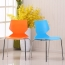 Cuzzles Stack Chair With Chrome Frame Image 5