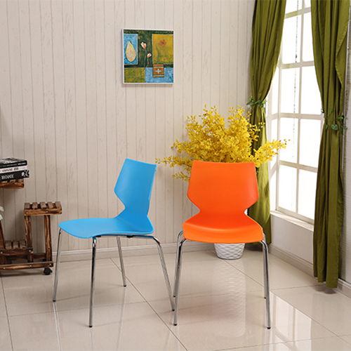Cuzzles Stack Chair With Chrome Frame
