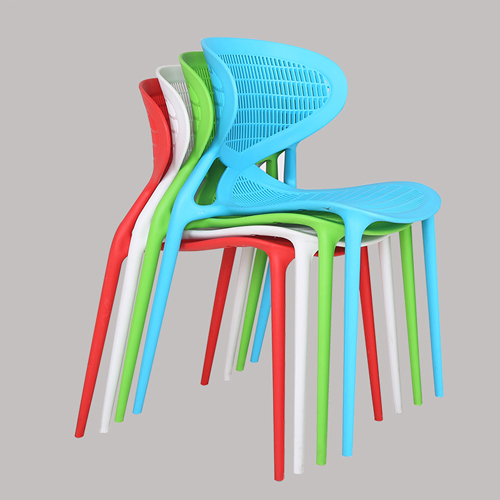 Mesh Angel Stackable Chair Image 3