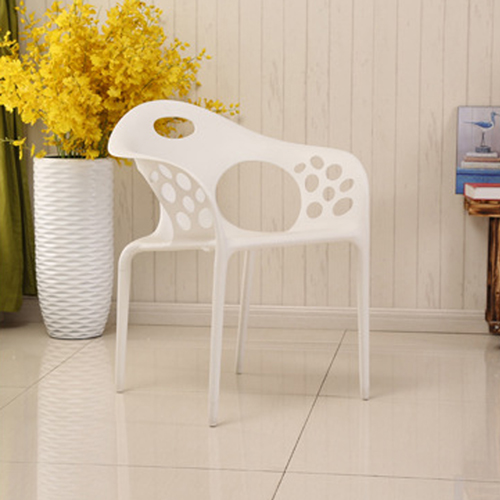 Rocco Modern Stackable Armchair Image 3