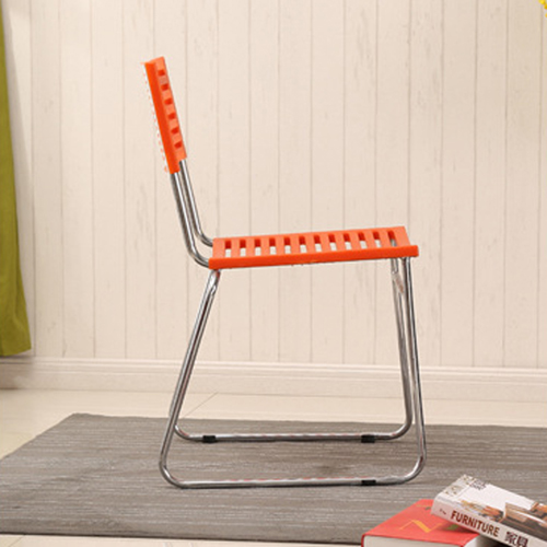 Blaze Stackable Chair With Chrome Frame Image 10
